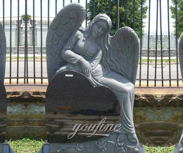Granite Angel Heart : Funny lawn memorials upright headstones generator for pet