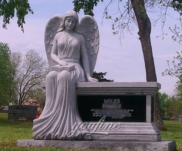 New Designs High Quality exquisite design angel burial monuments prices