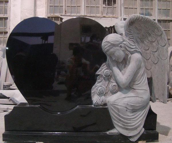 Granite Angel Heart : Funny granite upright gravestones near me for grave amazon