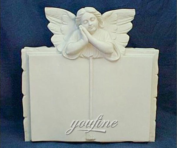 cheap prices weeping angel book shaped tombstone for sale