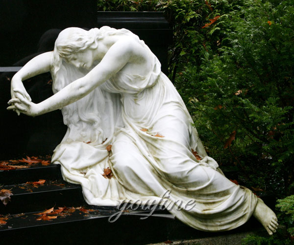 holloween angel tombstone for grave decoration prices