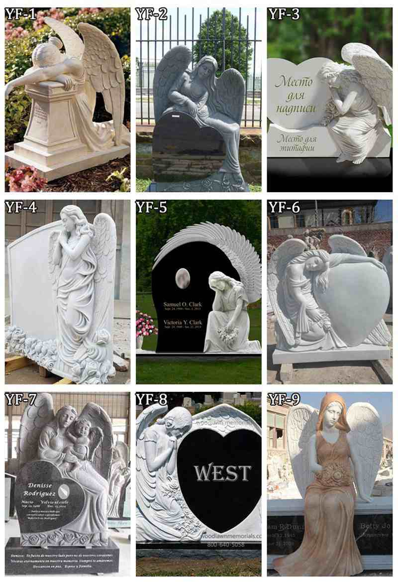 Angel Memorials Headstones