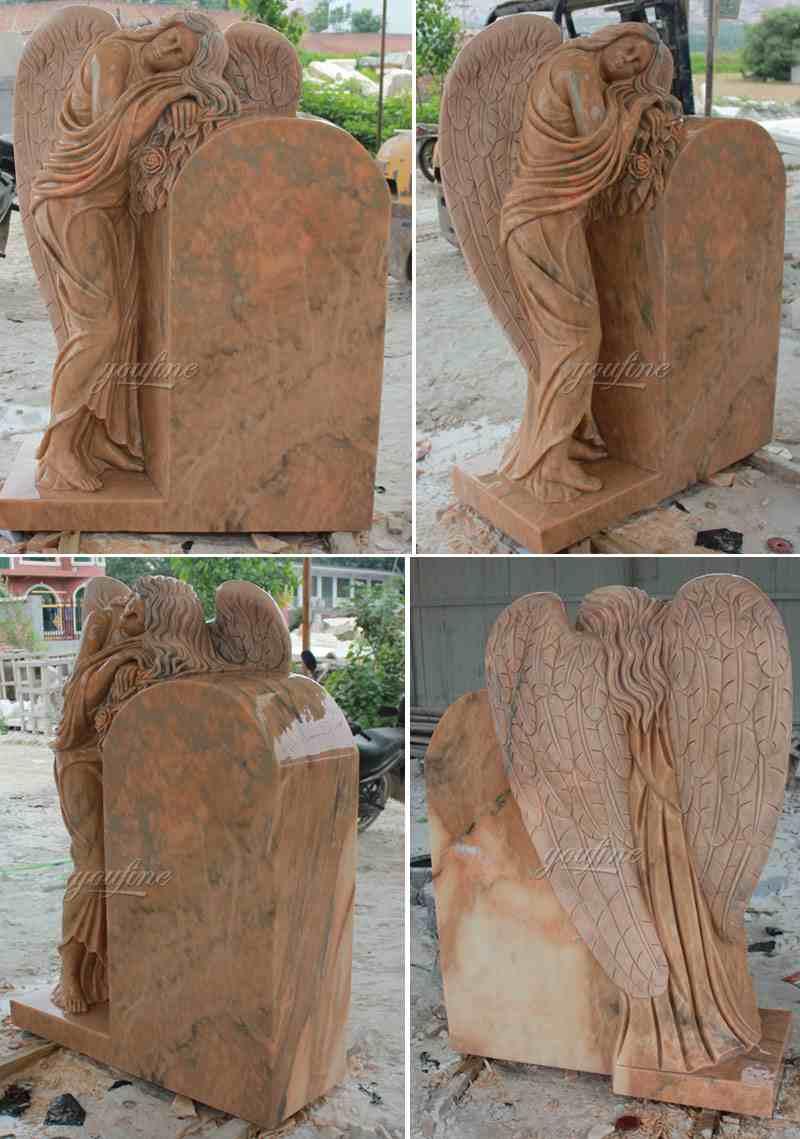 Marble Angel Headstone