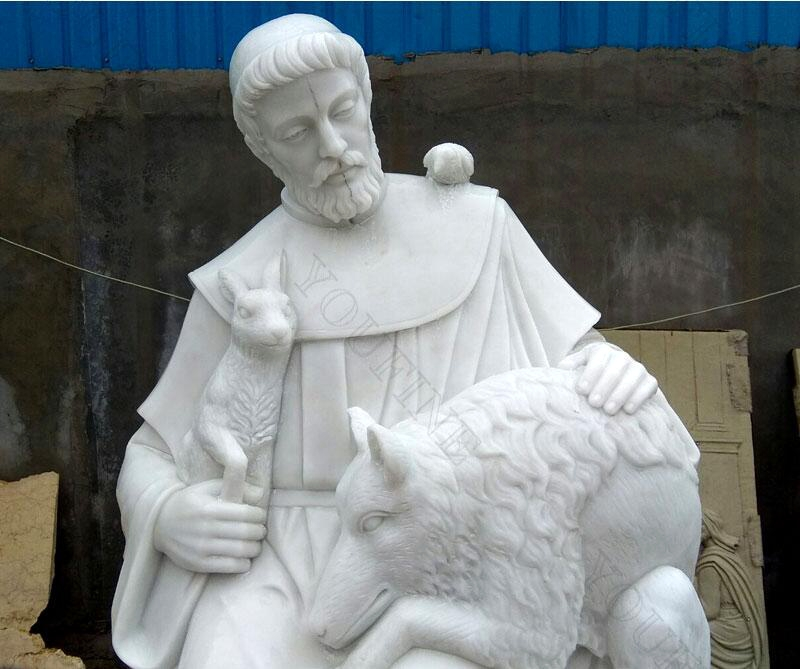 St Francis statue for garden