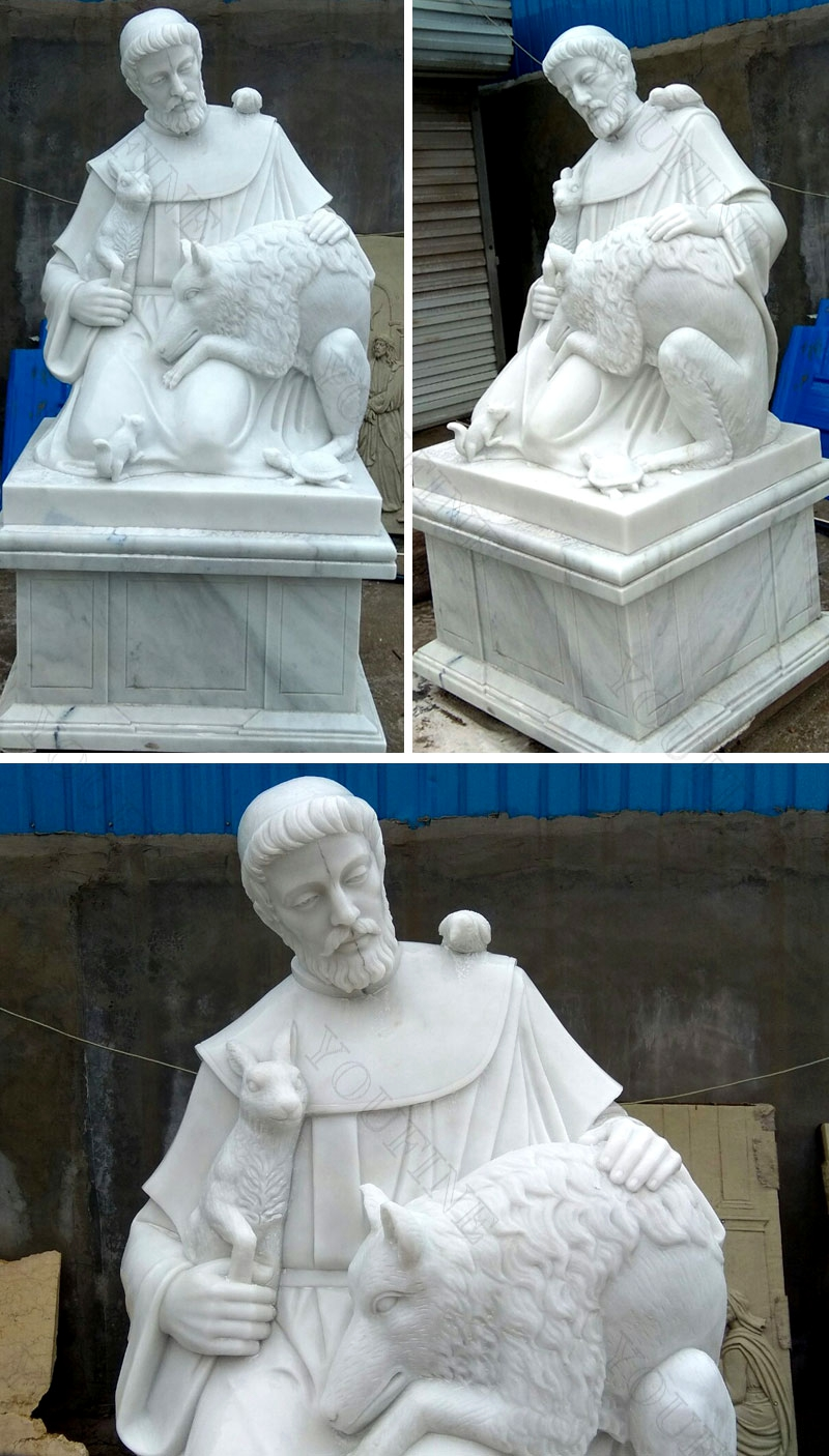 St Francis statue for sale