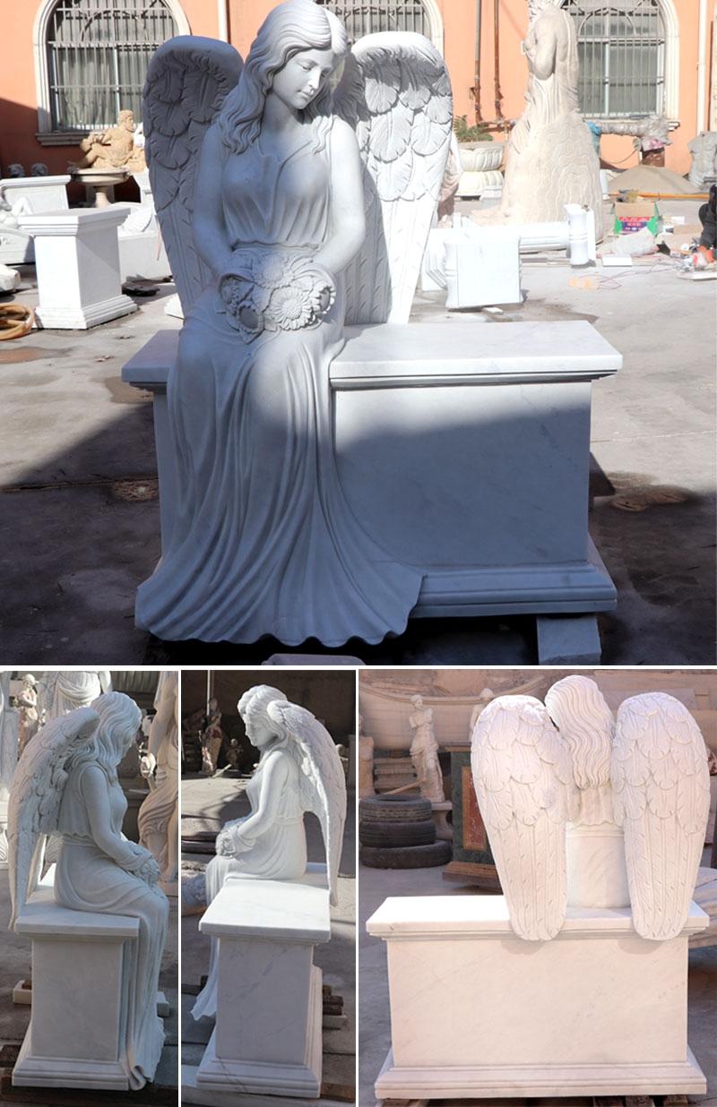 Memorial Angel Statues