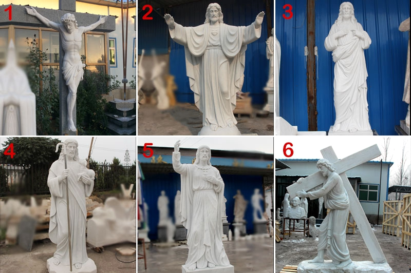 life size jesus marble statue