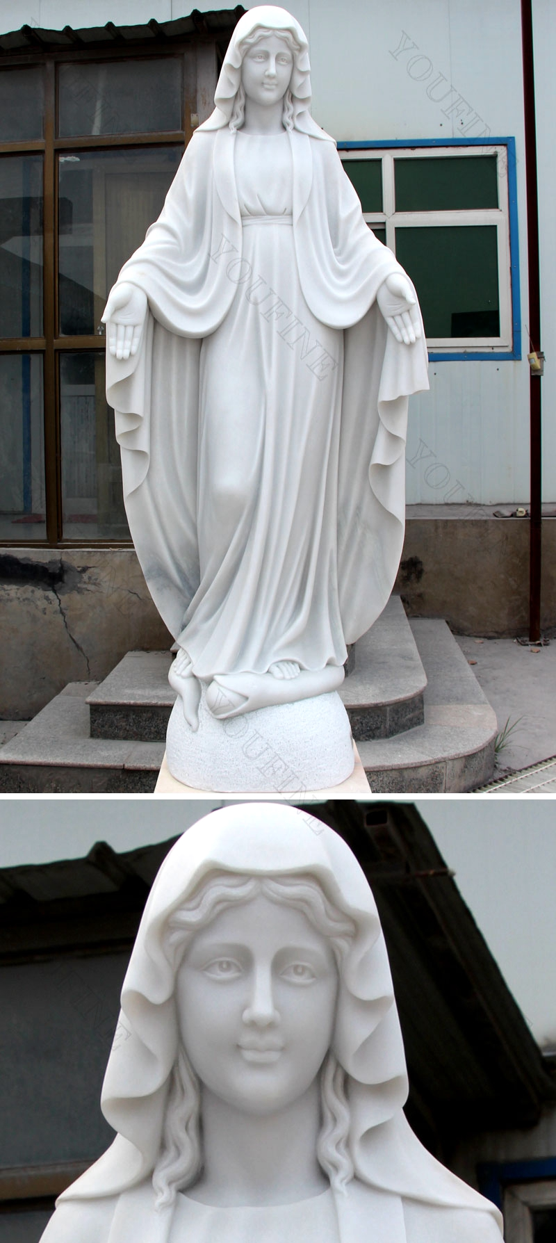 life size virgin Mary statue for sale