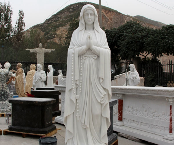 our lady of Lourdes statue for garden