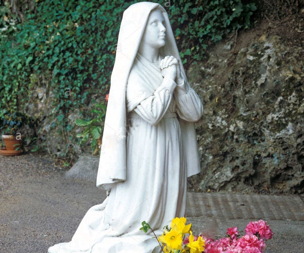 saint garden statues