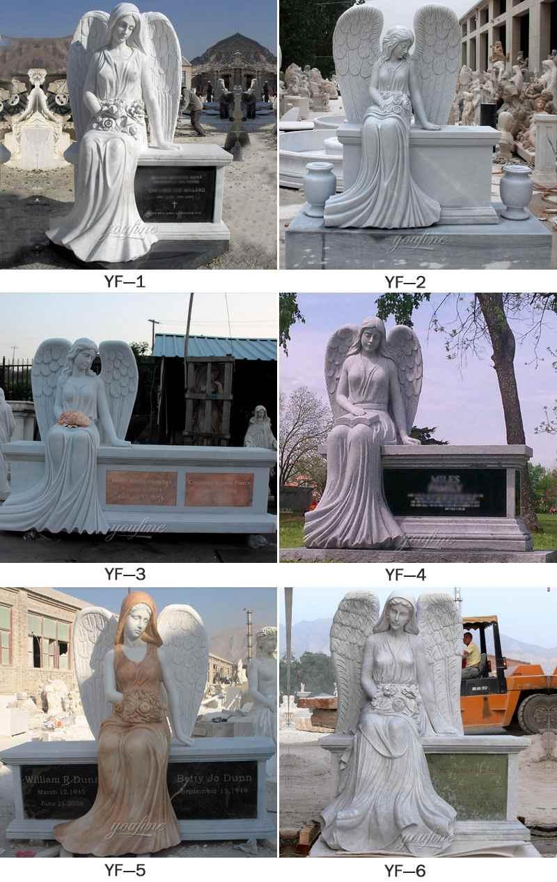 Angel Marble Headstone