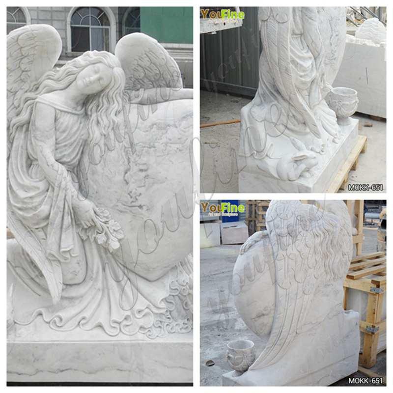 Marble Angel Headstones