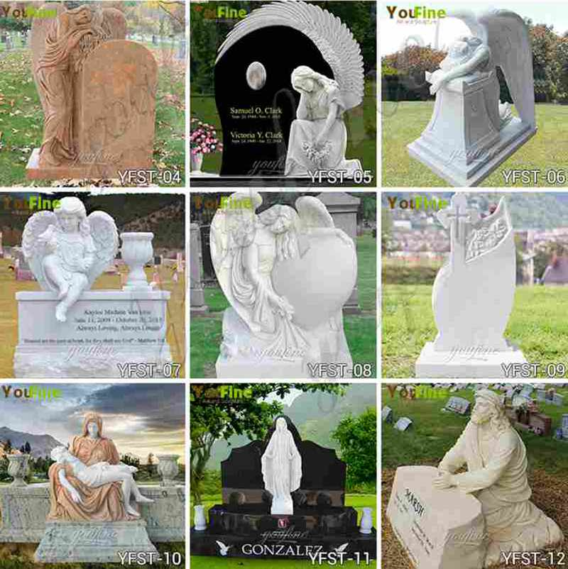 Hand Carved Granite Headstone