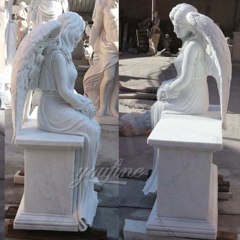 Memorial Headstones with Flower China Factory MOKK-98